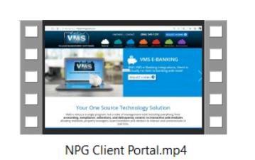 HOA Client Portal Demo Video